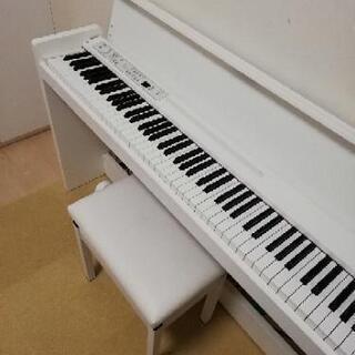 KORG 電子ピアノ LP-380 ホワイト 2017年製