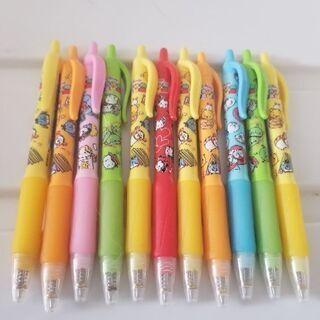 新品☆ディズニー色ボールペン11本をセットでお譲りします!