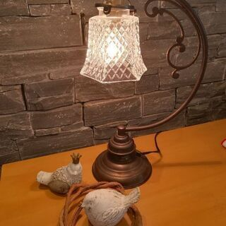 スタンドライト アンティーク ランプ