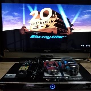☆人気のロングセラー機♪W録画&500GB♪AQUOS BD-H...