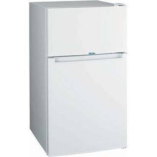 ハイアール HAIER JR-N85A W [冷凍冷蔵庫 (85L 右開き) 2ドア ホワイト]の画像