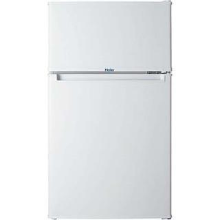 ハイアール HAIER JR-N85A W [冷凍冷蔵庫 (85L 右開き) 2ドア ホワイト] - 杉並区