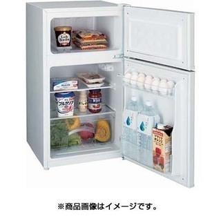 ハイアール HAIER JR-N85A W [冷凍冷蔵庫 (85L 右開き) 2ドア ホワイト] - 家電