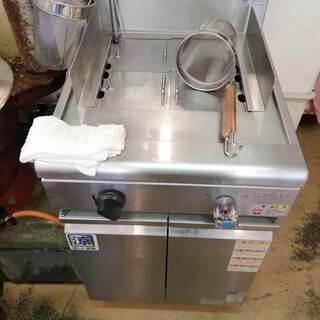 ☆ゆで麺器 タニコー TGUS-50 LPガス用 中古品☆