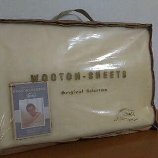 ブランケット 未使用(feather wooton sheets)