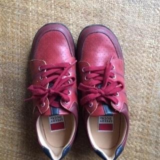 女性用 靴 23.5 合皮