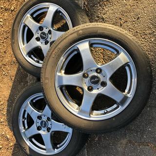 最終値下げ タイヤホイールセット 175/60R15 3本