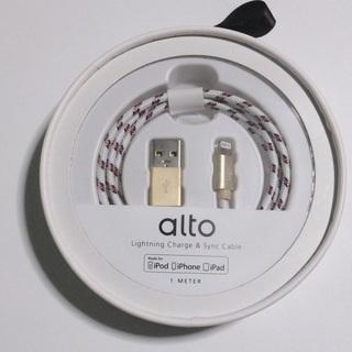 Alto 充電&データ転送ケーブル Braided Apple ...