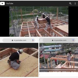 建築物木材骨組み組立