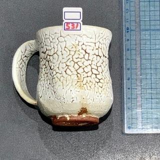 焼物のマグカップ