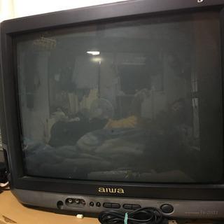ブラウン管テレビ21インチ