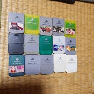 プレステ1メモリ750円 1枚 中古店1058➡️750円