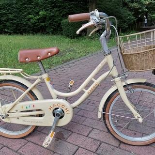 子供用自転車 ブリヂストン ハッチ (HACCHI) 白/補助輪...