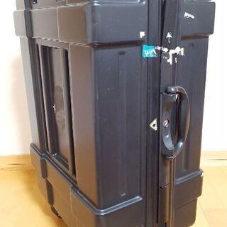 9d9e3d944e 【中古】100L大型スーツケース 色:マット(半ツヤ程度)ブラック