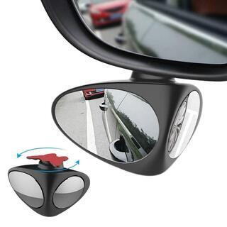車用補助ミラー サイドミラー 360度角度調整可能