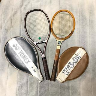 超レア 硬式テニスラケット 2本セット 女性用