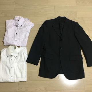 スーツジャケット&ワイシャツセット