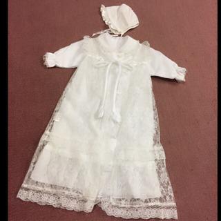 【美品】赤ちゃん:セレモニードレスセット 新生児