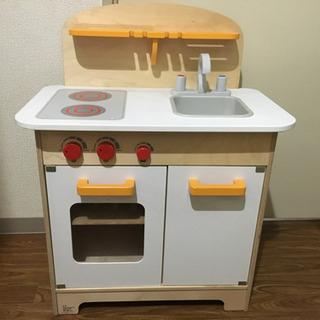 【取引中】木製 おままごと キッチン Hape