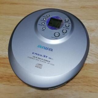 ポータブルCDプレーヤー(9)aiwa XP-V330