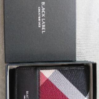 新品未使用 BURBERRY  メンズ 折りたたみ財布