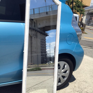 大型鏡 自己DIY サントリーニ風 ホワイト
