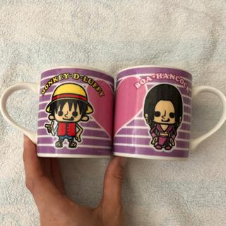 ワンピース ペアマグカップ