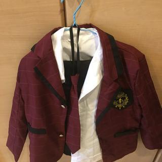 130子供服スーツ男子