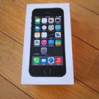 iPhone5s 未使用 付属品完備 au 16GB