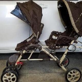 値下げ双子縦型ベビーカー【GRACO】