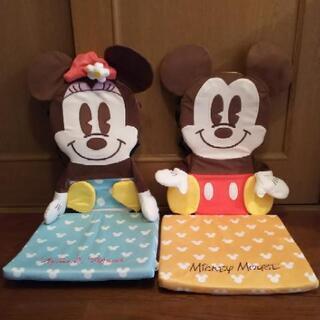 ミッキー&ミニー 座椅子カバー