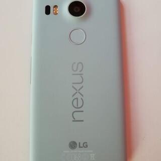 【美品】Nexus 5X 32GB ミント【SIMロック解除済】