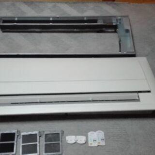 天井埋込カセット型 フラットパネル フレッシュ ホワイト エアコ...