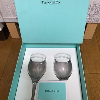 【再値下げ‼️】⭐️未使用   TIFFANY & Co.  スウィングワイン ペアグラス - 京都市