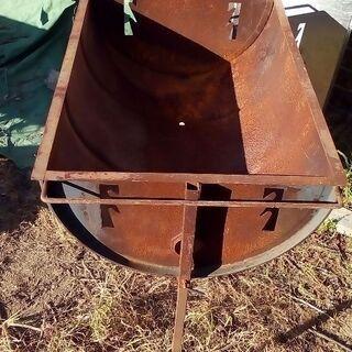 ドラム缶BQ釜サビ有高さ自由型2千円売