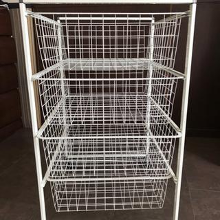 イケア IKEA ワイヤーバスケット