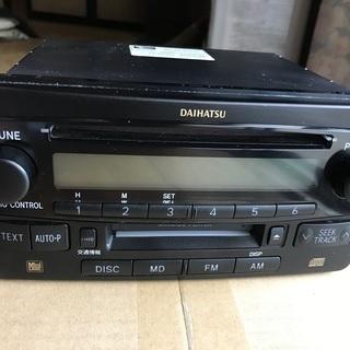ダイハツ アトレーワゴンS320純正CD,MDデッキ