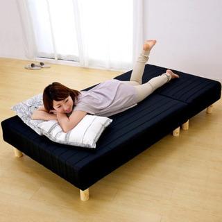 3way ソファにもなる分解式脚付マットレスベッド