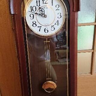 アンティーク掛け時計(ジャンク品)