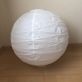 和紙の照明セード