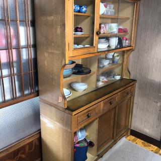 0円無料 食器棚