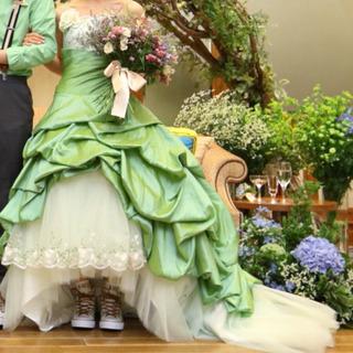 カラードレス【結婚式・ウェディング】