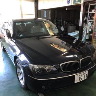 BMW 7シリーズ 倉庫保管