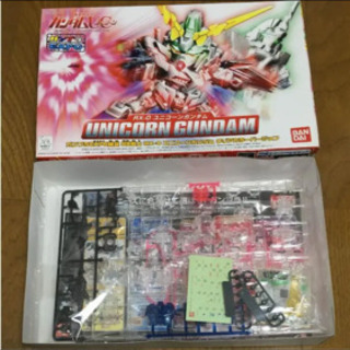 BB戦士 RX-0 ユニコーンガンダム クリアカラーバージョン - 仙台市