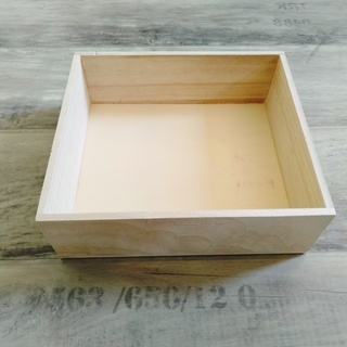DIY素材・ガーデニング 木箱 ウッドボックス