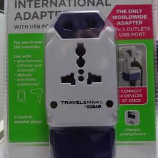 海外用変換アダプター 未開封未使用