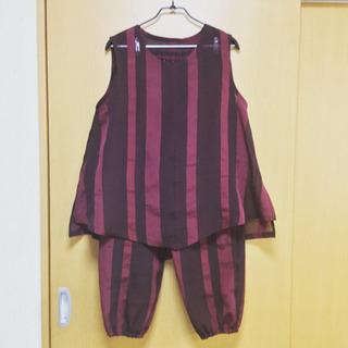 【手作り】紗のベスト・もんぺセット