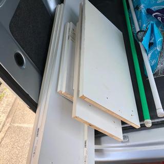【ジャンク】白い棚板 セット