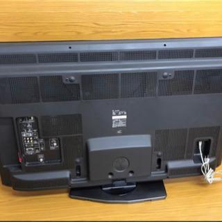 SHARP  AQUOS46インチフルハイビジョン液晶カラーテレビLC-46LX1 LEDバックライト46V型 2010年製 リモコン付き - 家電