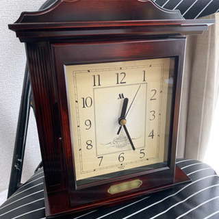 KEYBOX 置き時計 クォーツ